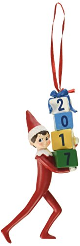 Department 56 Elf on the Shelf Dated Hanging Ornament