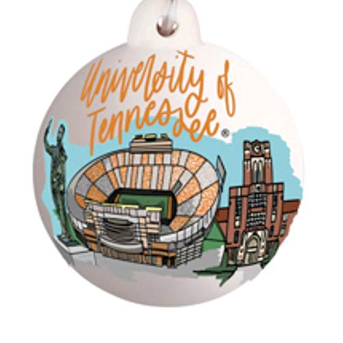 Glory Haus Tennessee Vols Landmark Ball Ornament