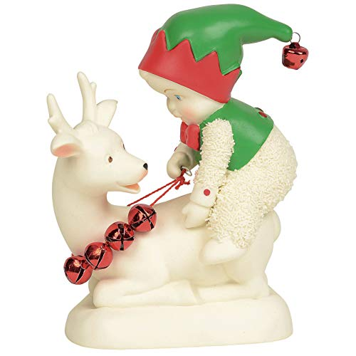 Department 56 Snowbabies Classics Quit Elfin Around Figurine, 4.5″, Multicolor