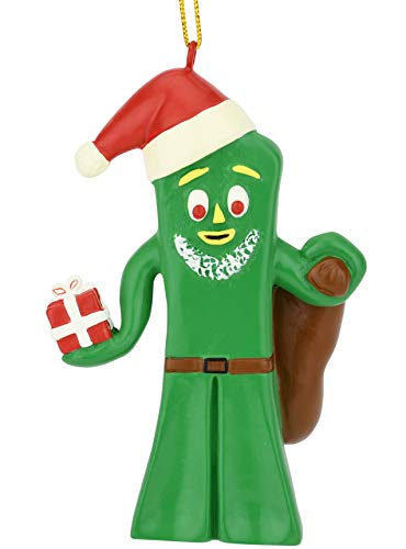 Tree Buddees Santa Gumby Holiday Christmas Ornament Figure Limited Edition
