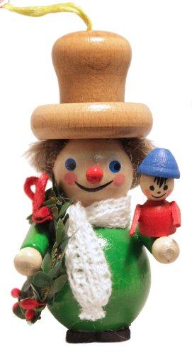 Pinnacle Peak Trading Company Steinbach Dickens Christmas Carol Bob Cratchit German Wood Ornament Germany