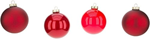 Mark Roberts Boxed Set of Four Christmas Ball Ornaments Buyer (Red)