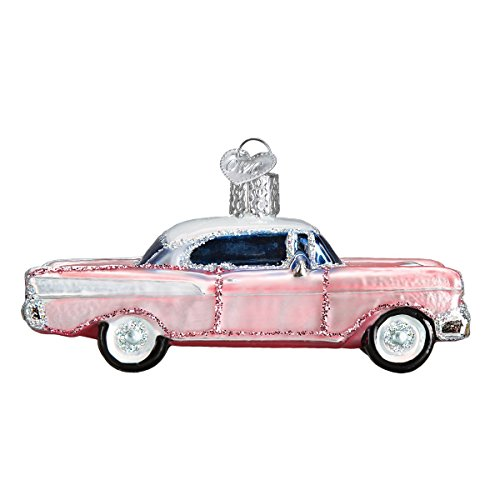 Old World Christmas Glass Blown Ornament Classic Car (46023)