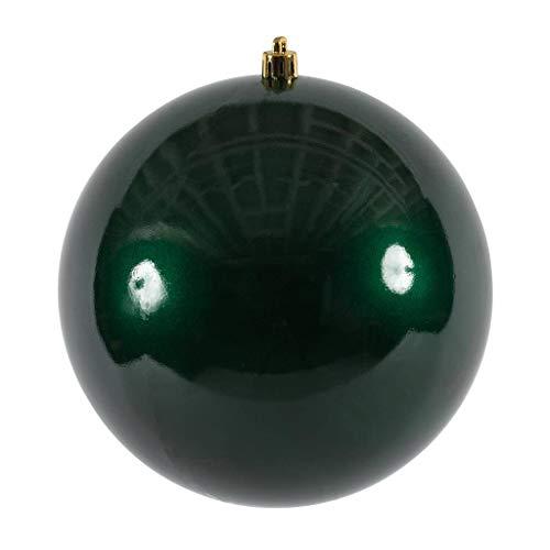 Vickerman 393314-3″ Midnight Green Candy Ball Christmas Tree Ornament (12 pack) (N590874DCV)