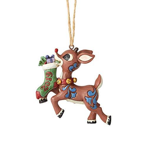 Enesco 2019 Rudolph Stocking Ornament