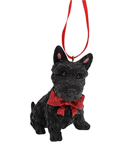 3-inch Scottish Terrier Scottie Resin Ornament