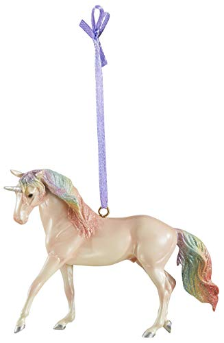 Breyer 2019 Holiday Unicorn Ornament – Majesty | 2019 Holiday Collection | Limited Edition | Model #700651 (Renewed)