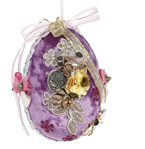 Mark Roberts Easter Flower Court Egg Lavender