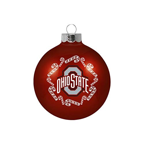 The Sports Fan Store Ohio State Christmas Ornament 2 5/8″