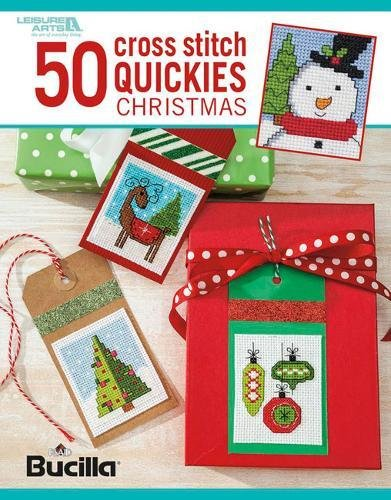 50 Cross Stitch Quickies-Christmas-From Santas and Snowmen to Angels, miniature stitchery designs that are quick to make for Decorations and Gifts