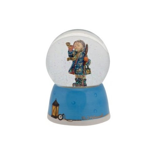 5.5″ Christmas Traditions Blue Hear Ye Hear Ye Musical Christmas Glitterdome