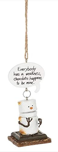 Midwest CBK 4″ Toasted S'Mores Everybody has a Weakness Christmas Ornament 150832