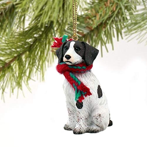 Conversation Concepts Brittany Spaniel Miniature Dog Ornament – Liver & White