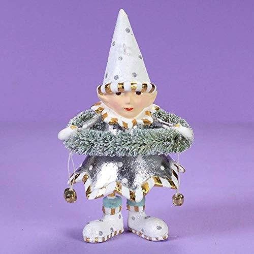 Patience Brewster Moonbeam Dasher's Wreath Elf Figural Ornament # 31256