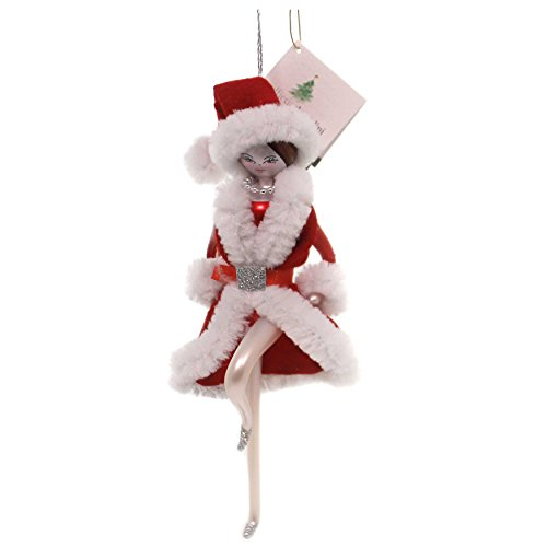 De Carlini ROCKETTE Ornament Glass Italian Girl Dancer Christmas Do7410 A