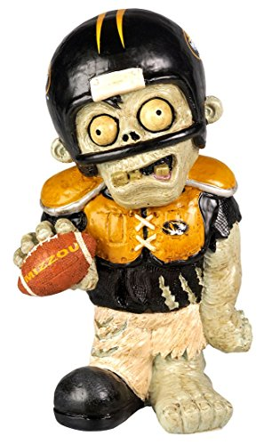 Forever Collectibles NCAA Missouri Tigers Zombie Figurine, Team Color, One Size