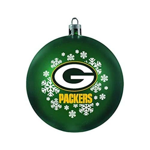 Topperscot Green Bay Packers Shatterproof Ball Ornament