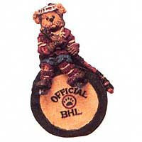 Boyds Bear Hockey Ornament Mario #25718