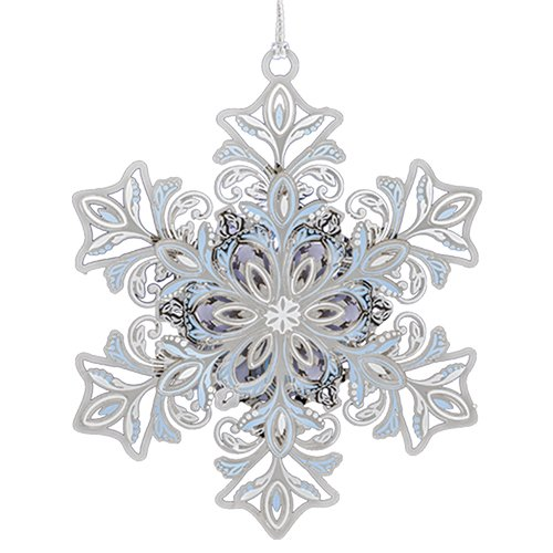 Beacon Design by ChemArt Glowing Snowflake Ornament