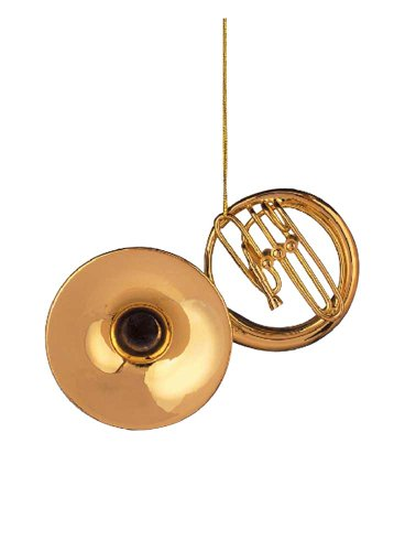Music Treasures Co. Gold Sousaphone Christmas Ornament
