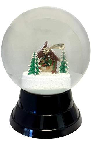 Alexander Taron PR1726 Perzy Snowglobe-Large Nativity-7″ H W x 5″ D, Gray