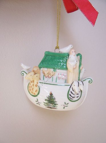 Spode Christmas Tree Signature Ornament Ark