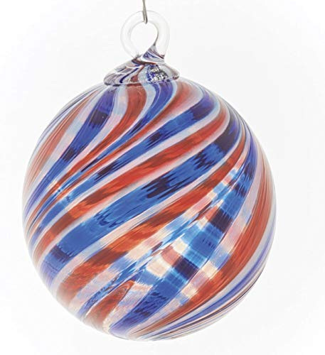 Glass Eye Studio 2019 Patriotic Limited Edition Numbered Ornament