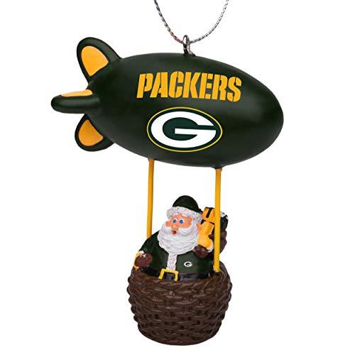 NFL Green Bay Packers Santa Blimp Ornamentsanta Blimp Ornament, Team Color, One Size