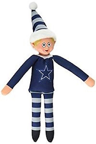 Forever Collectibles NFL Team Elves – Elf on a Shelf – 10 Inches – Dallas Cowboys
