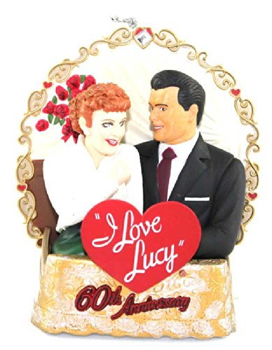 Carlton Heirloom 2011 I Love Lucy – Magic 60th Anniversary Ornament -#CXOR113Z
