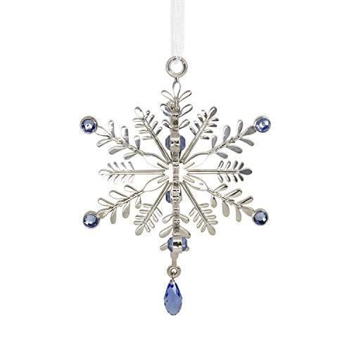 Hallmark Christmas Signature Premium Elegant Snowflake Metal Ornament