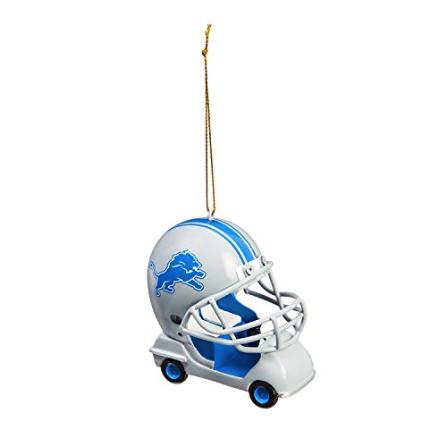 Team Sports America Detroit Lions Vintage Field Cart Team Ornament