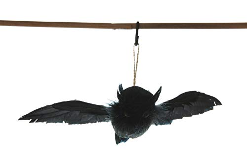 Creative Co-Op Feather Owl Ornament