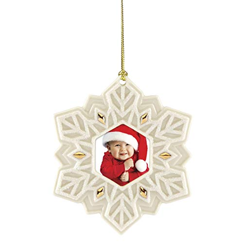 Lenox 885854 Snowflake Frame Ornament