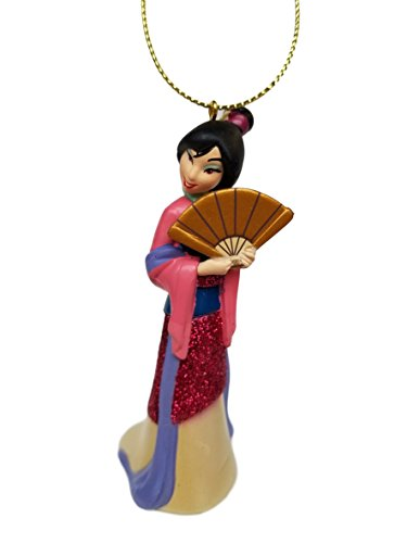 """""""Mulan"""" (Princess) Figurine Holiday Christmas Tree Ornament – Limited Availability – New for Christmas 2017"""