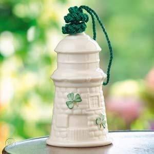 Belleek Ballinacourty Lighthouse Ornament