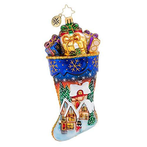 Christopher Radko Vacation Inn Christmas Ornament, Multicolor