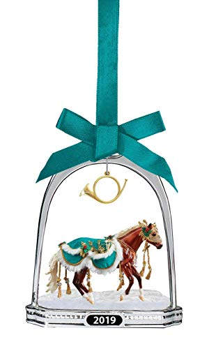 Breyer 2019 Holiday Stirrup Ornament – Minstrel | 2019 Holiday Collection | Limited Edition | Model #700320 (Renewed)
