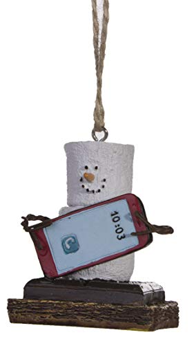 Midwest S'Mores Cell Phone Christmas/Everyday Ornament