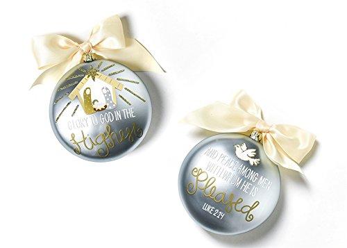 Coton Colors The Birth Of Christ Ornament – Luke 2:14