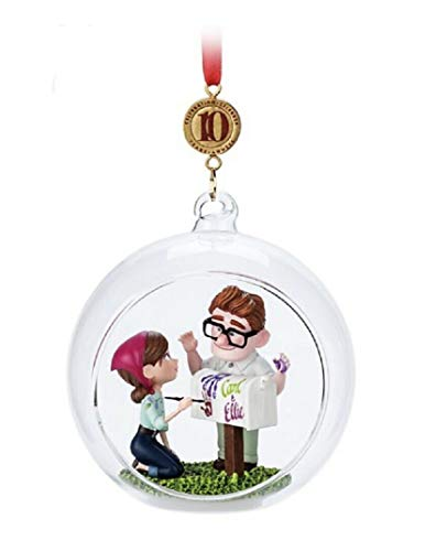"2019″UP"" 10th Anniversary Carl and Eillie Sketchbook Ornament"