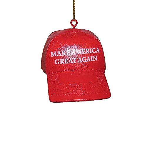 Kurt Adler 3.625-Inch Make America Hat Ornament