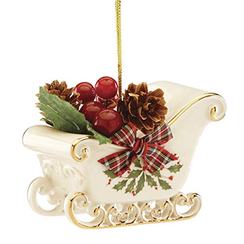 Lenox 884930 Holiday Sleigh Ornament