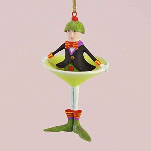 Patience Brewster 7″ Krinkles Oliver Martini Christmas Cocktail Party Ornament