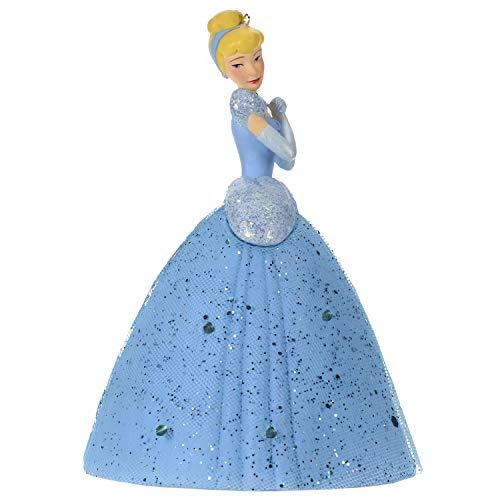 Hallmark Keepsake Christmas Ornament 2019 Year Dated Disney Cinderella A Dream Come True, 18″