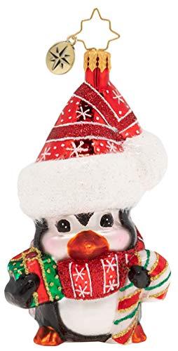 Christopher Radko Delightfully Darling Penguin Christmas Ornament, Multicolor