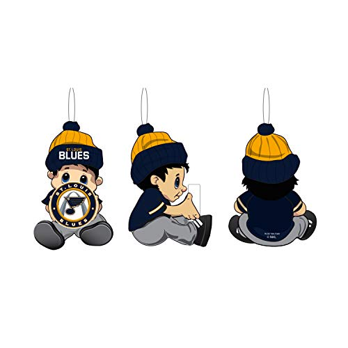 Team Sports America NHL St Louis Blues Remarkable Adorable Lil Fan Christmas Ornament – 2″ Long x 2″ Wide x 3″ High