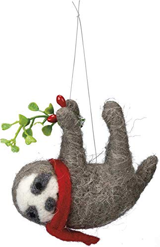 Primitives by Kathy Scarf and Sprig Sloth Ornament