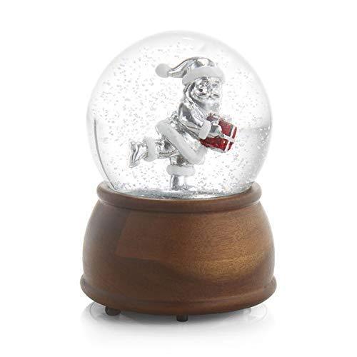 Nambe Santa Snow Globe