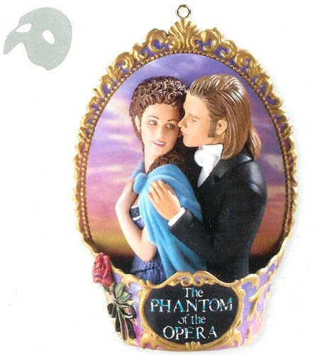 Carlton Cards Heirloom The Phantom Of The Opera Musical Christmas Ornament